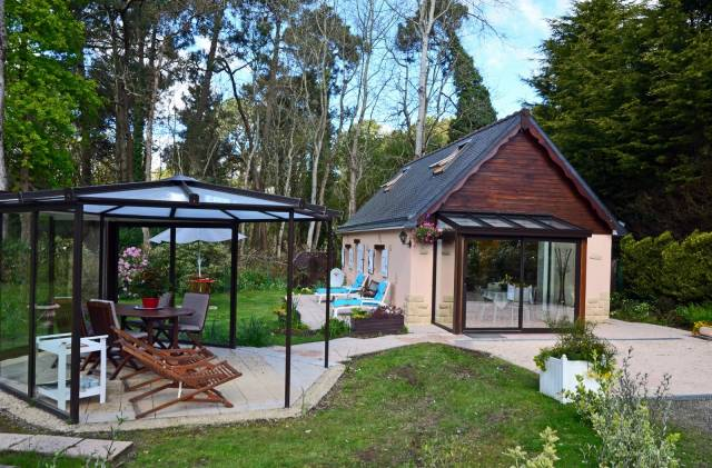 Dream holiday cottage in the woods of love paimpol plourivo bréhat 10