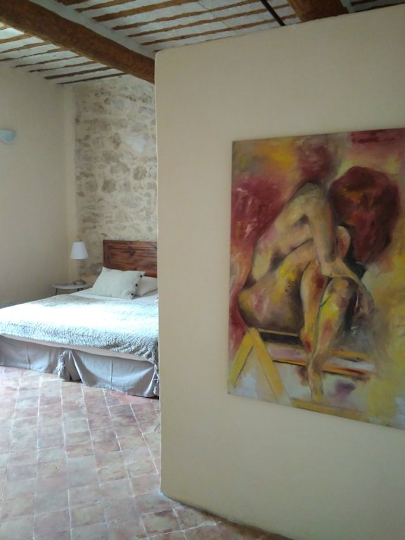 Face au lavoir chambre d 39 h tes has methamis vaucluse 84 for Maison hote methamis