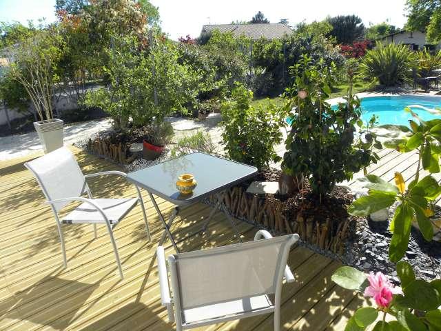 La villa mogador suite et chambre piscine et baln o has - Piscine andernos les bains ...
