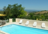 Gite countryside with heated s ...