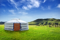Bed and breakfast, B and B Yurt unusual